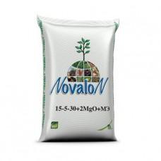 Водорастворимое удобрение Новалон 15-5-30+2MqO+МЕ